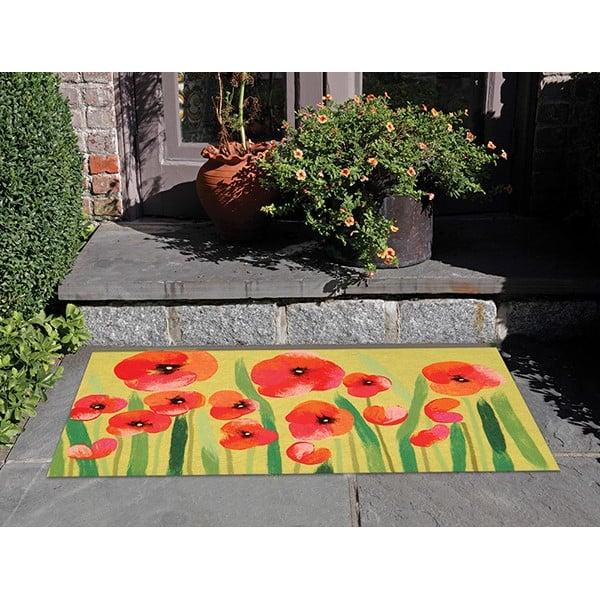 Red (3283-24) Floral / Botanical Area Rug