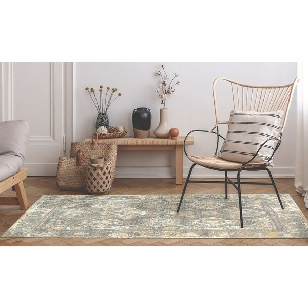 Grey (8044-47) Vintage / Overdyed Area-Rugs