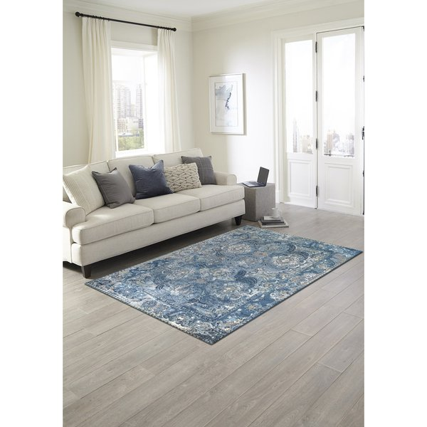 Blue (8044-03) Vintage / Overdyed Area-Rugs
