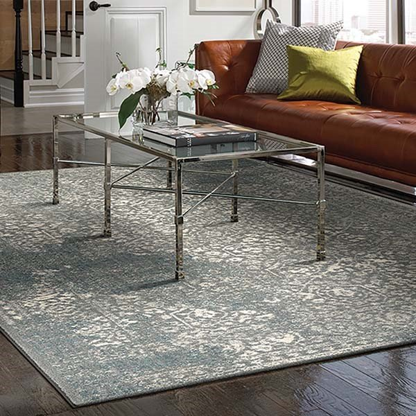 Willow Gray (90643-90075) Vintage / Overdyed Area Rug