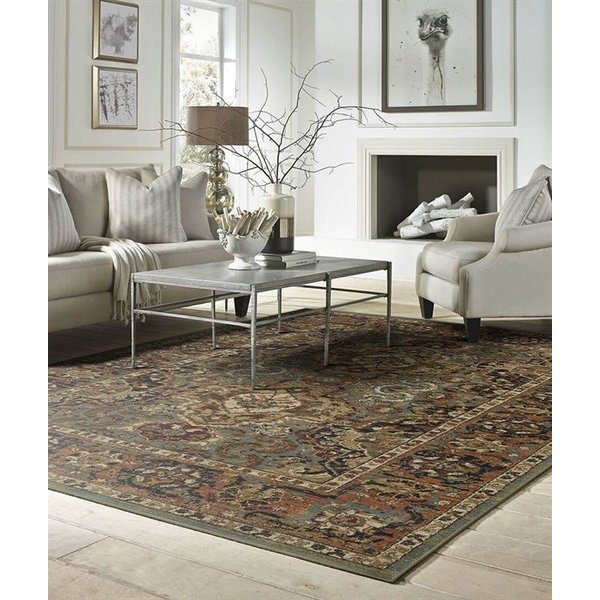 Aquamarine (90938-50123) Traditional / Oriental Area Rug