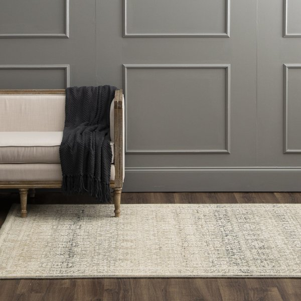 Gray, Silver, Tobacco (16001) Traditional / Oriental Area-Rugs