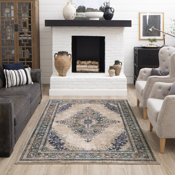 Indigo (90961-50134) Traditional / Oriental Area Rug