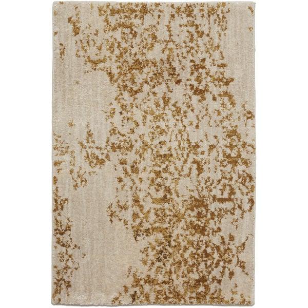 Brushed Gold (90953-20047) Vintage / Overdyed Area-Rugs