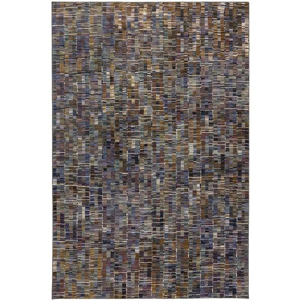 Brown (90971-60129) Contemporary / Modern Area Rug