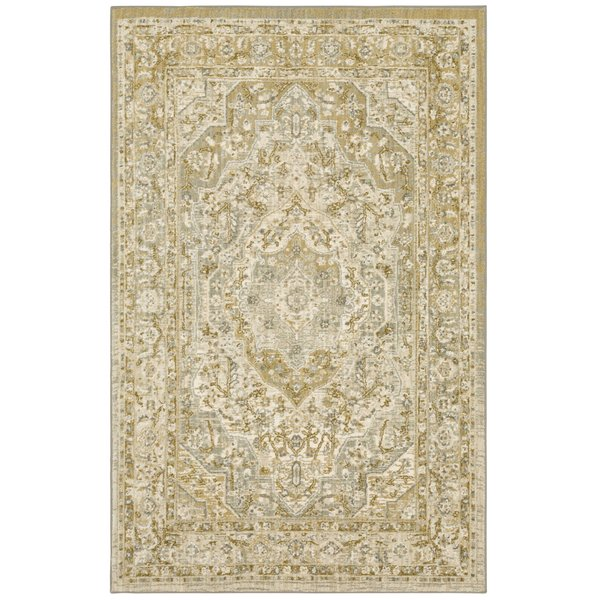 Willow Gray (90941-90075) Traditional / Oriental Area Rug