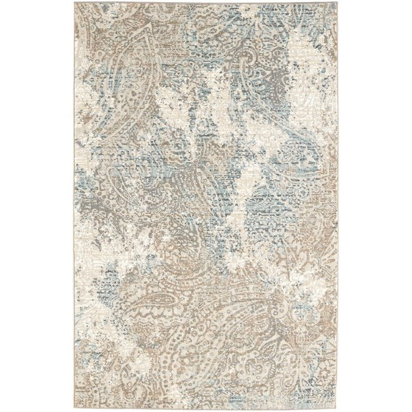 White, Hazelnut, Jadeite (91210-50097) Vintage / Overdyed Area-Rugs