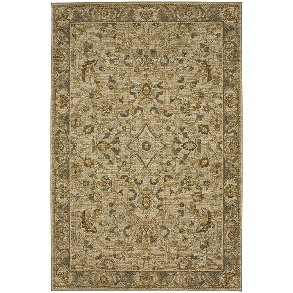 Willow Grey (91515-90075) Traditional / Oriental Area Rug