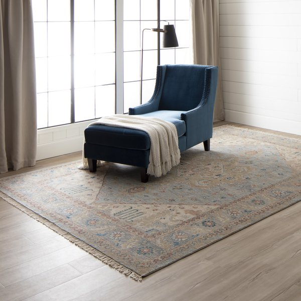 Charcoal (RG-144) Traditional / Oriental Area Rug