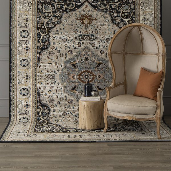 Black (123-901) Traditional / Oriental Area-Rugs