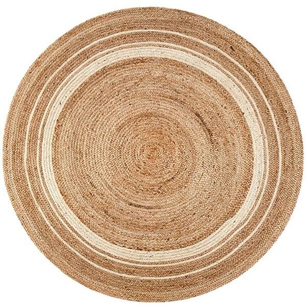 Beige, Tan, Ivory (AMB-0362) Natural Fiber Area-Rugs