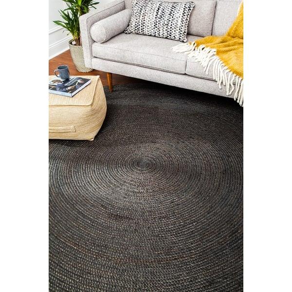 Grey (AMB-0329) Natural Fiber Area Rug