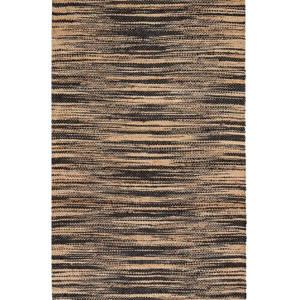 Tan, Black (AMB0375) Natural Fiber Area Rug