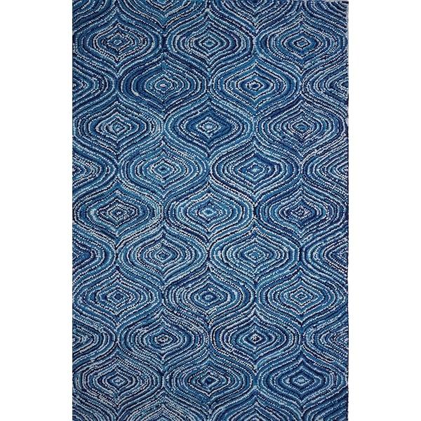 Blue (AMB-1007) Contemporary / Modern Area Rug