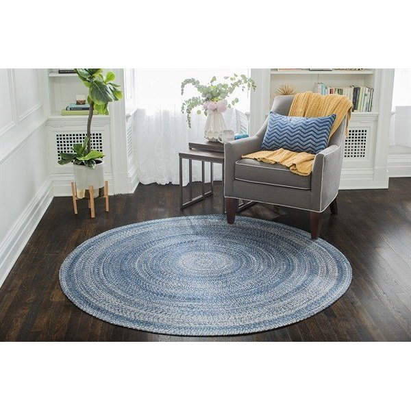 Blue Country Area-Rugs