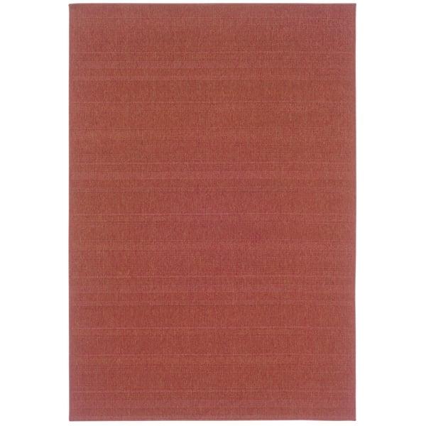 Rust (781C8) Contemporary / Modern Area-Rugs