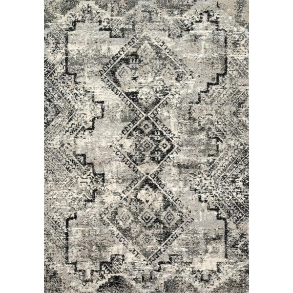 Grey, Black Vintage / Overdyed Area-Rugs