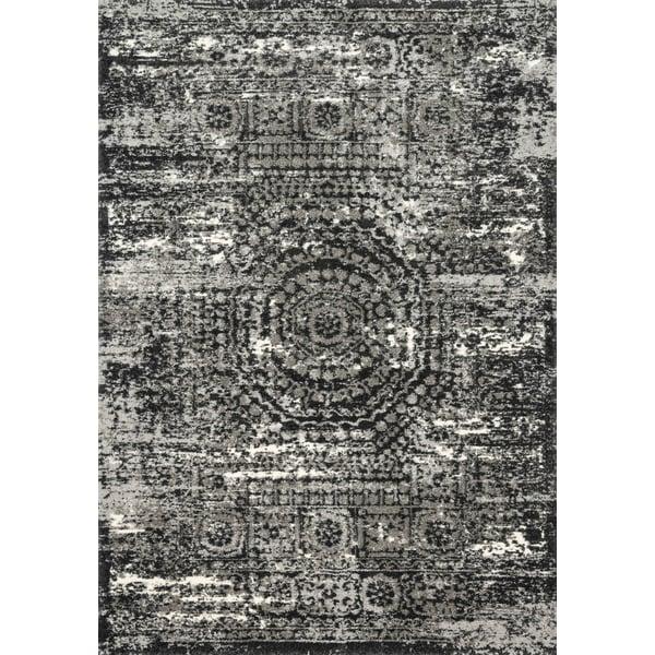 Graphite, Black Vintage / Overdyed Area-Rugs