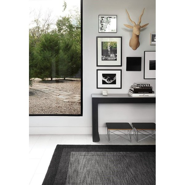 Grey, Charcoal Contemporary / Modern Area Rug