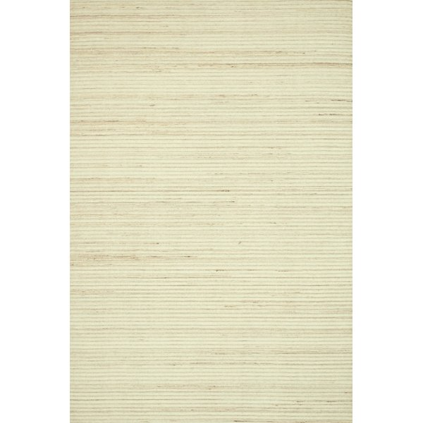 Ivory Contemporary / Modern Area-Rugs