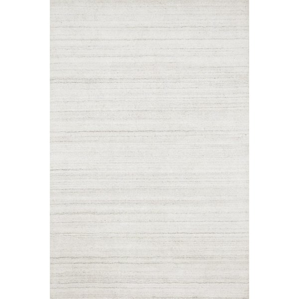 Ivory Contemporary / Modern Area Rug