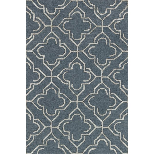 Slate, Taupe Contemporary / Modern Area Rug