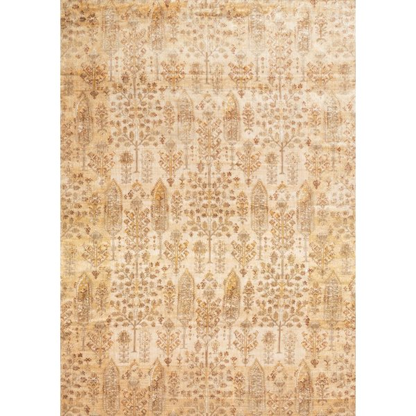 Antique Ivory, Gold Traditional / Oriental Area Rug