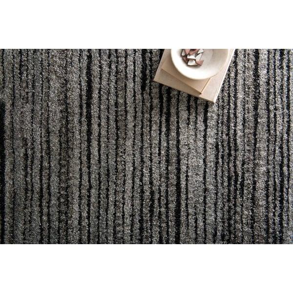 Grey, Black Contemporary / Modern Area Rug