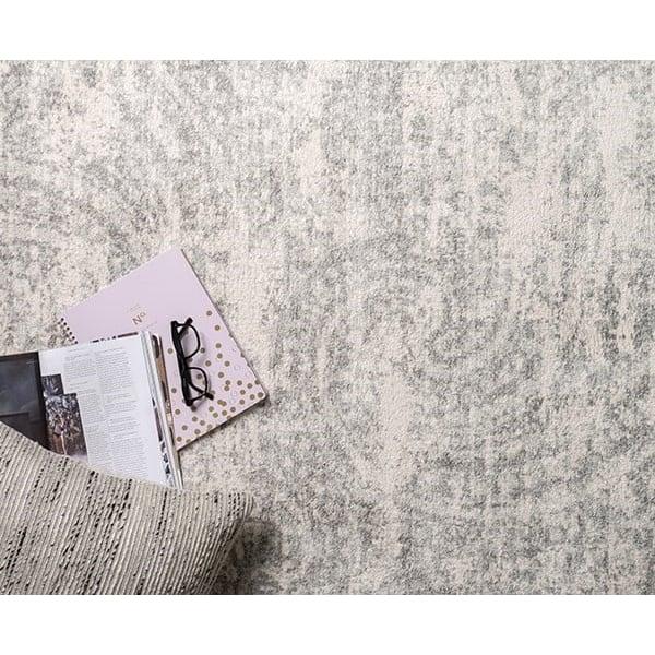 Grey, Grey Vintage / Overdyed Area Rug