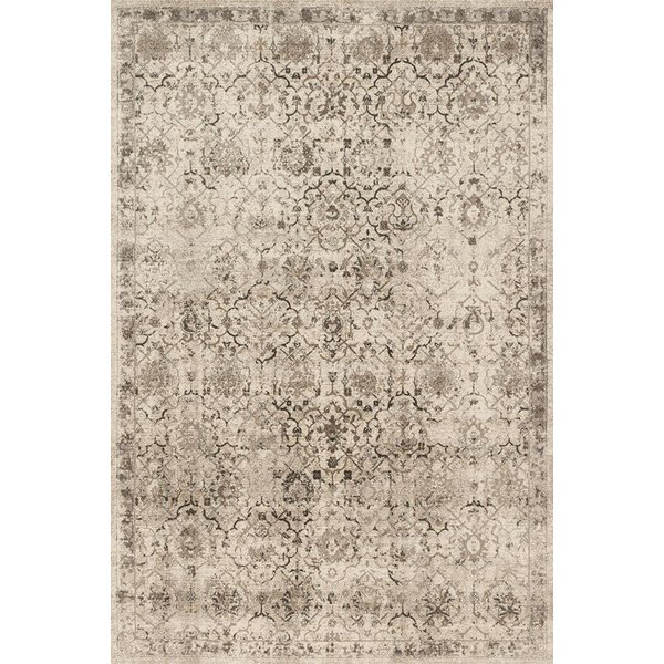 Sand, Brown Vintage / Overdyed Area Rug