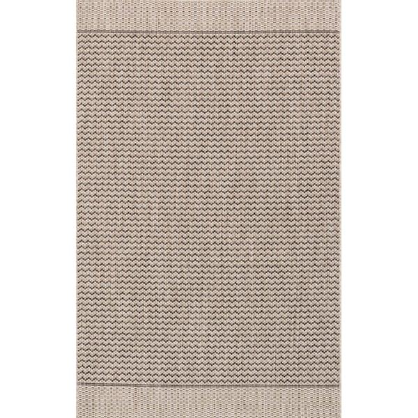 Grey, Black Contemporary / Modern Area-Rugs