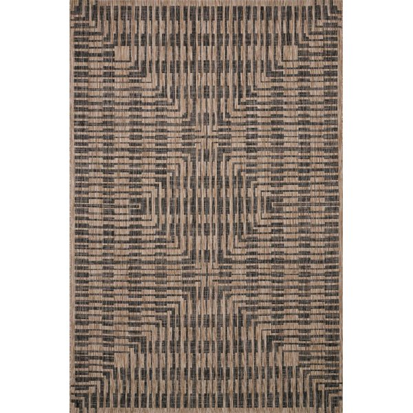 Brown, Black Contemporary / Modern Area-Rugs