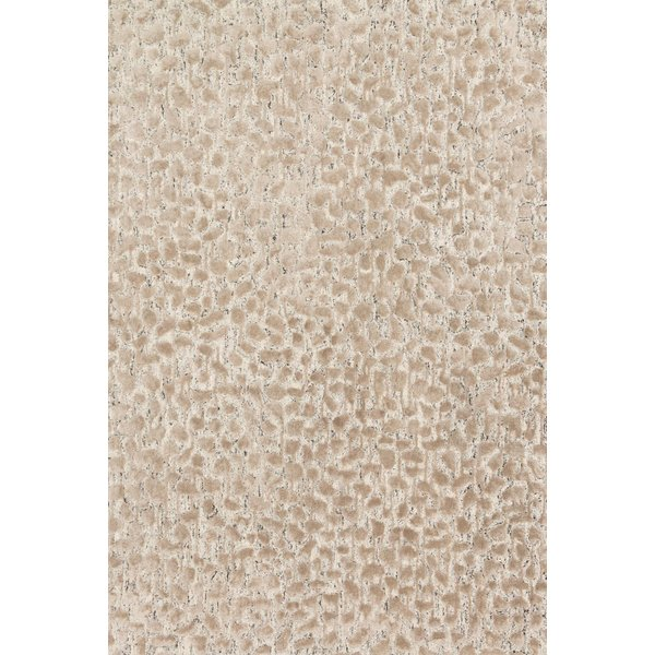 Ash, Taupe Contemporary / Modern Area Rug