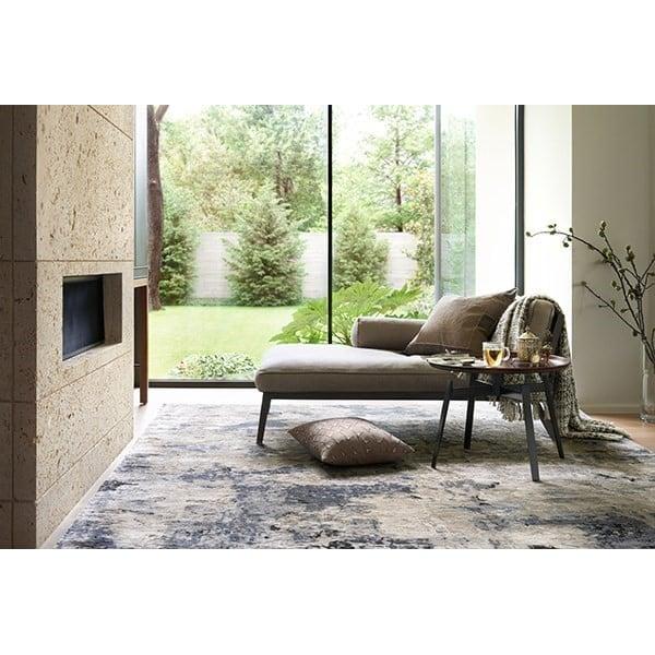 Grey, Slate Contemporary / Modern Area Rug