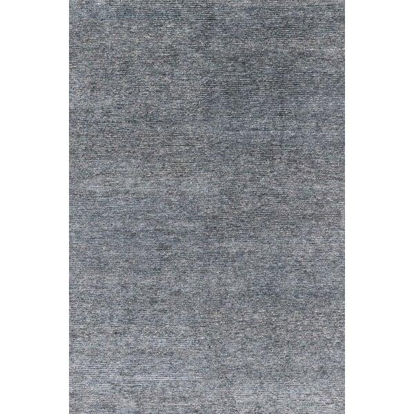 Denim, Natural Contemporary / Modern Area Rug