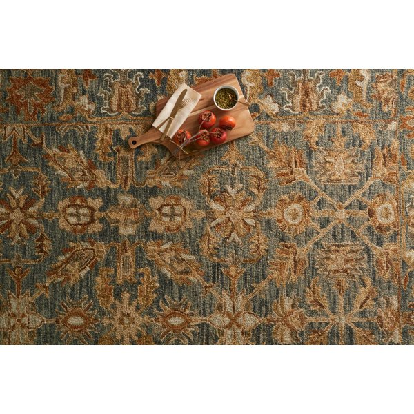 Slate, Slate Traditional / Oriental Area Rug