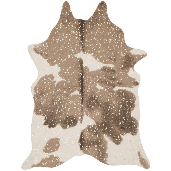 Taupe, Champagne Animals / Animal Skins Area Rug