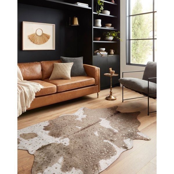 Taupe, Champagne Animals / Animal Skins Area-Rugs