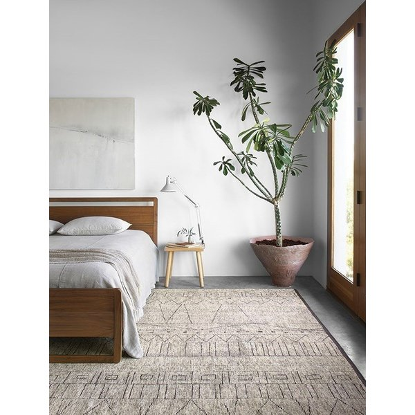 Natural, Ash Moroccan Area-Rugs