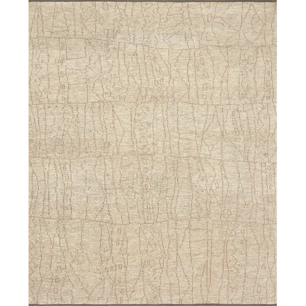 Sand, Taupe Moroccan Area Rug