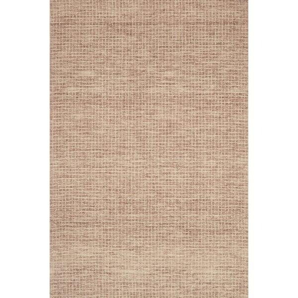 Blush Contemporary / Modern Area Rug