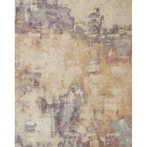 Beige, Berry Contemporary / Modern Area-Rugs