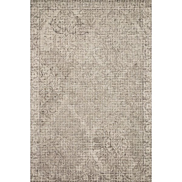 Pewter, Stone Contemporary / Modern Area-Rugs