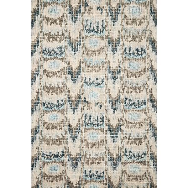 Blue, Turquoise Bohemian Area Rug