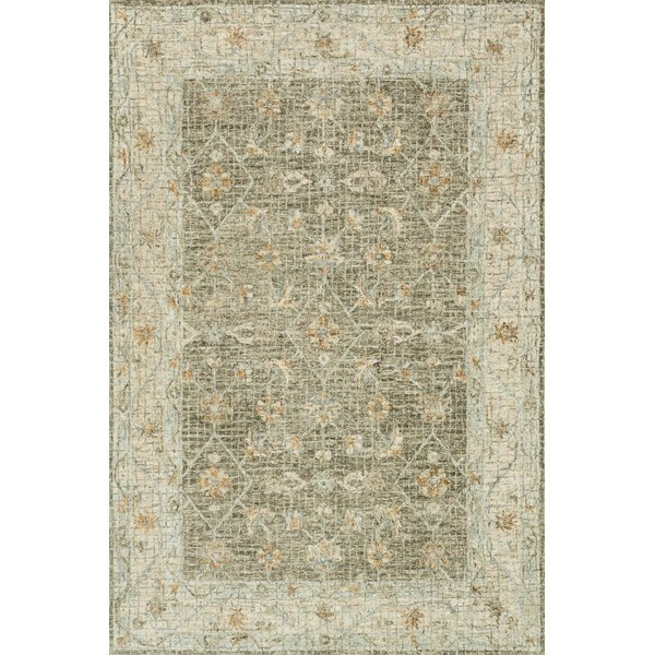 Taupe, Sand Traditional / Oriental Area Rug