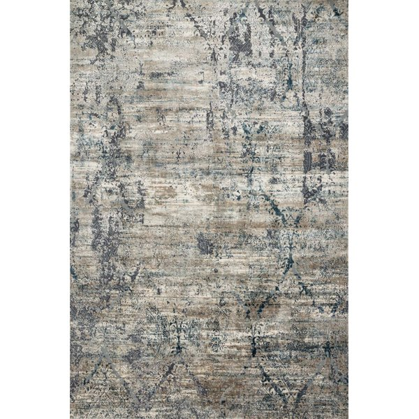 Taupe, Blue Vintage / Overdyed Area-Rugs