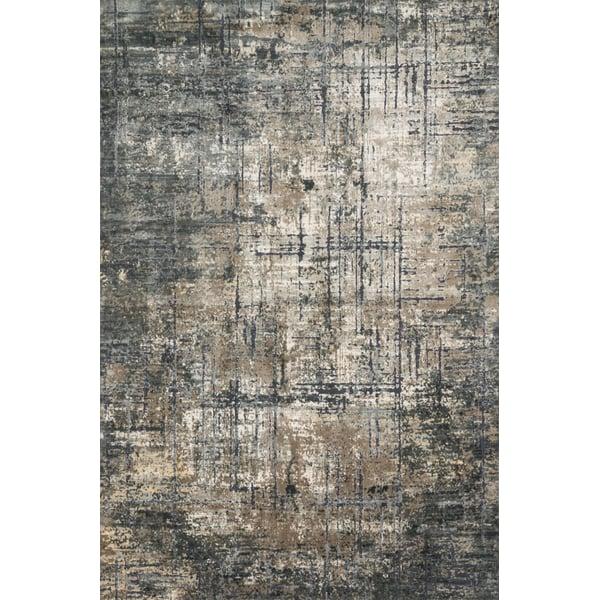 Marine, Grey Vintage / Overdyed Area Rug