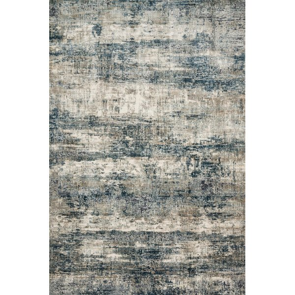 Ocean, Grey Vintage / Overdyed Area Rug