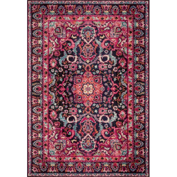 Pink, Midnight Traditional / Oriental Area-Rugs