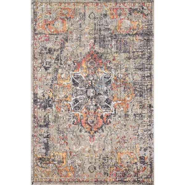Taupe, Sunset Vintage / Overdyed Area Rug